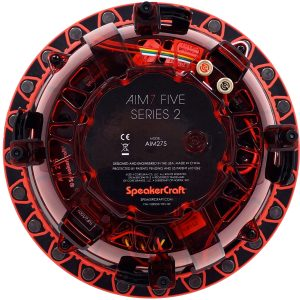 Speakercraft AIM7 Five Series 2 In Ceiling Kevlar Woofer Pivoting 7 inch speaker – Each