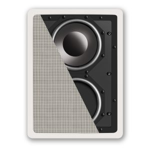 Definitive Technology IWSub 10/10 Fully-Enclosed In-Wall Subwoofer – Each