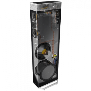 Definitive Technology BP9080x Bipolar Atmos Floorstanding Speaker w/ 12″ Powered Subwoofer – Each