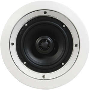Speakercraft CRS6 Zero Custom 6″ Round Series In-Ceiling Loudspeaker – Each