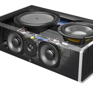 Definitive Technology CS9080 5.25″ 3-Way Center Channel w/8″ 300-Watt Powered Woofer – Each