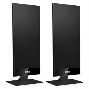 KEF T101 2-Way On-Wall Home Theater Low Profile Speakers – Pair