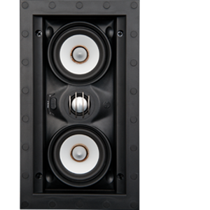 Speakercraft Profile AIM LCR3 Three Flangeless In-Wall Speaker with Pivoting Woofer – Each