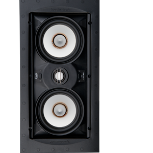 Speakercraft Profile AIM LCR5 Three Flangeless In-Wall Speaker with Pivoting Woofer – Each