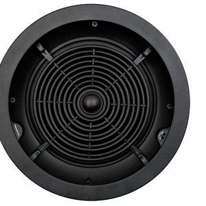 Speakercraft Profile CRS6 Two 6″ Round Flangeless In-Ceiling Loudspeaker – Each