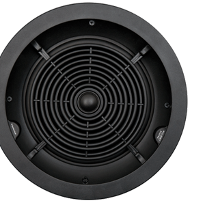 Speakercraft Profile CRS8 One 8″ In-Ceiling Flangeless Speaker with Pivoting Tweeter – Each