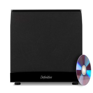 Definitive Technology SuperCube 4000 8″ 1200-Watt High Performance Powered Subwoofer – Each