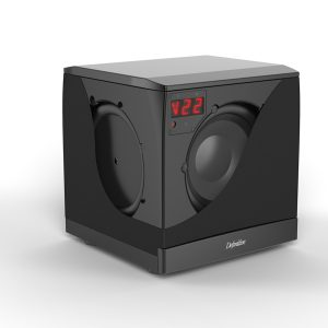 SuperCube 4000 8″ 1200-Watt High Performance Powered Subwoofer – Each