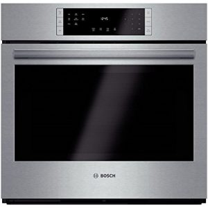 Bosch – HBL8451UC 800 30″ Stainless Steel Electric Single Wall Oven – Convection – Each
