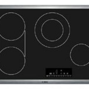 Bosch – NET8066SUC 800 30″ Black Electric Smoothtop Cooktop – Each