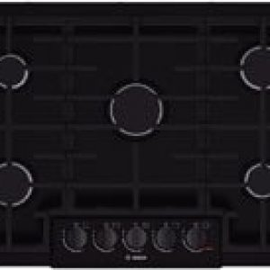 Bosch NGM8065UC 800 30″ Black Gas Sealed Burner Cooktop – Each