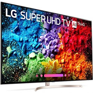 LG – 65SK9500PUA 65-Inch 4K Ultra HD Smart LED TV (2018 Model) – Each