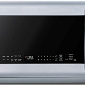 LG – LMHM2237ST 2.2 Cubic Feet Over-The-Range Microwave Oven, Stainless Steel – Each
