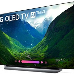 LG – OLED65C8PUA 65-Inch 4K Ultra HD Smart OLED TV – Each