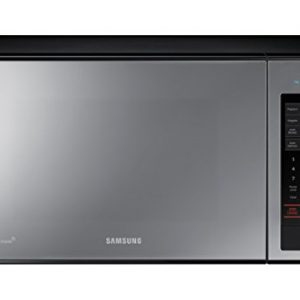 Samsung – MG14H3020CM 1.4 cu. ft. Countertop Grill Microwave Oven with Ceramic Enamel Interior, Black Mirror Finish – Each