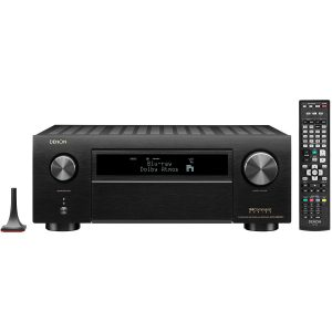 Denon AVR-X6500H 11.2 Channel 4K AV Receiver with 3D Audio