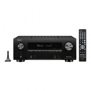 Denon AVR-X3600H 9.2ch 4K AV Receiver with 3D Audio and HEOS