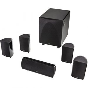 Definitive Technology ProCinema 6D 5.1 Channel High-Performance Compact Surround Sound System